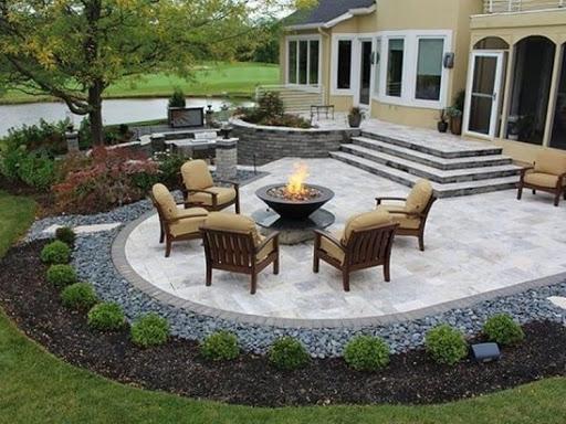красивый двор