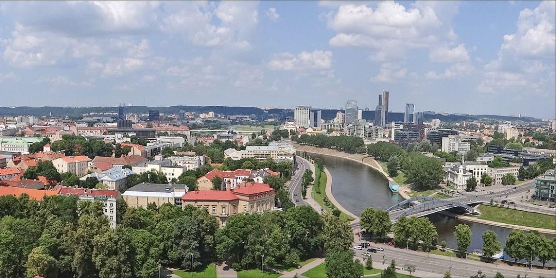 Панорама Вильнюса / Фото: flickr.com/dalbera