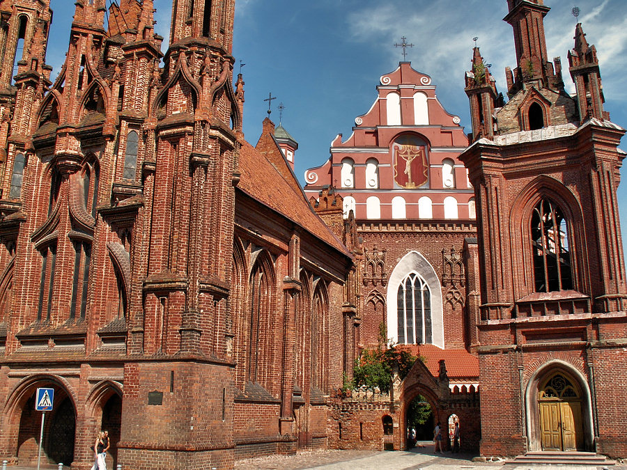 Костел святой Анны в Вильнюсе / Фото: flickr.com/johnas