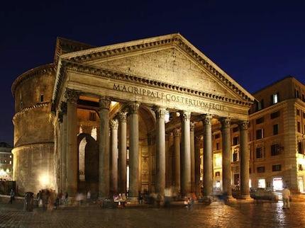 В Риме не проблем с отелями, однако большинство из них довольно спартанские.jpg