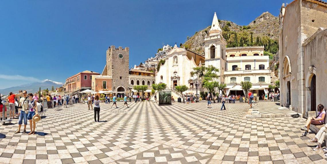 Сицилия - греческий остров в центре Средиземного моря