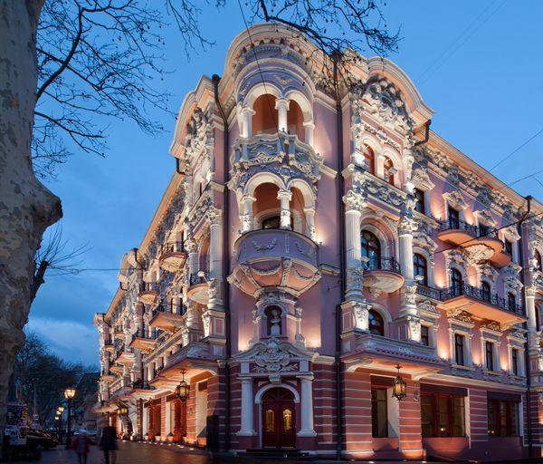 Одесский отель «Бристоль», еще один шедевр мировой архитектуры