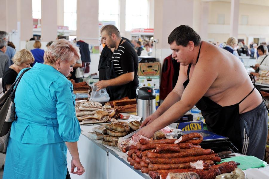 Привоз - это поистине культовое место Одессы