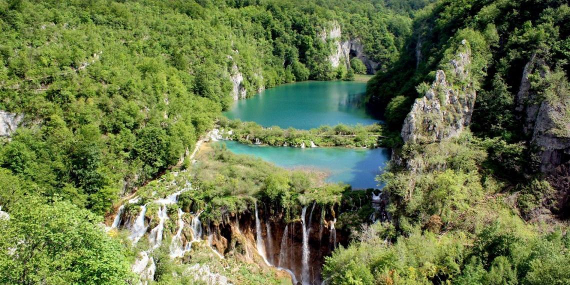 Плитвинские озера в Хорватии это настоящее место Силы