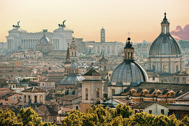 Рим, Италия -экскурсия и шоппинг
