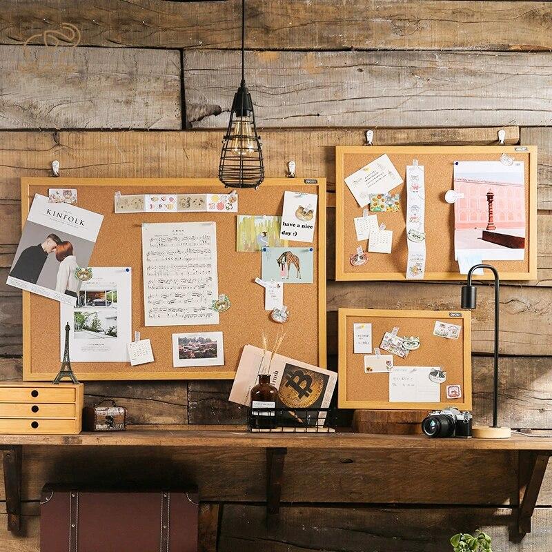 Пробковая доска для дома и офиса